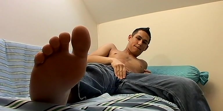 Foot Smothered In Warm Cum - Cristian