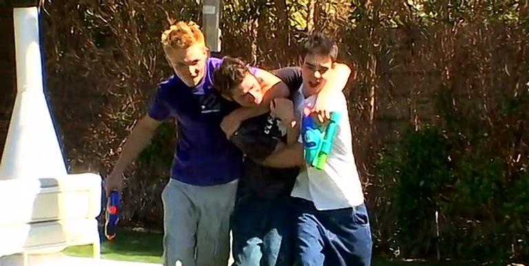 Double Penetration For Shane! - Jeremiah Johnson, Shane Allen And Zack Randall