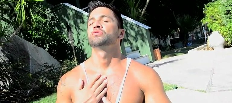 Outdoor Cock Stroking With Dominic - Dominic Pacifico