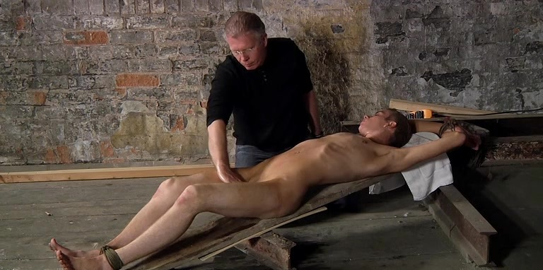Wanked to a cum load by the master - Chad Chambers And Sebastian Kane