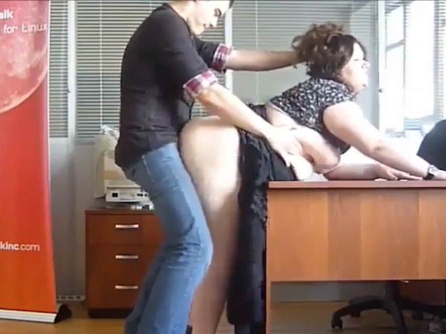 Office sex with Russian chubby amateur