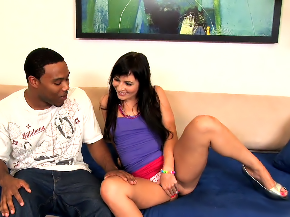 Ashli Orion in My Big Black Stepdad 3