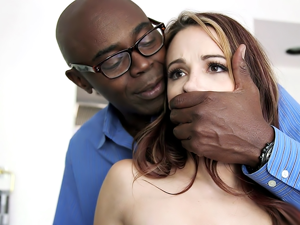 My white wife love black penis