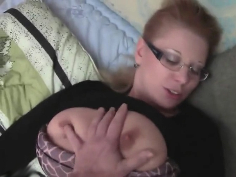 Chubby amateur with big tits