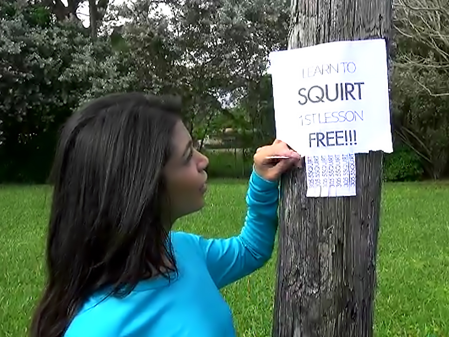RK Prime - Squirt school