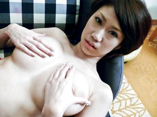 Fuuka Takanashi busty doll nailed by a huge dick
