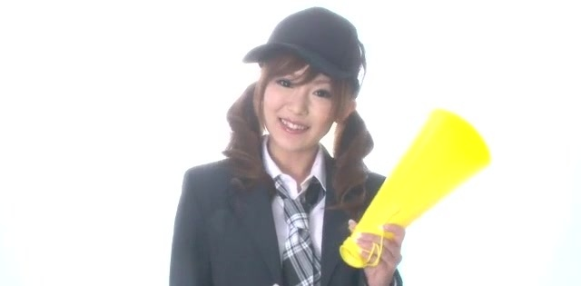 Miku Airi Asian schoolgirl blows a small dick