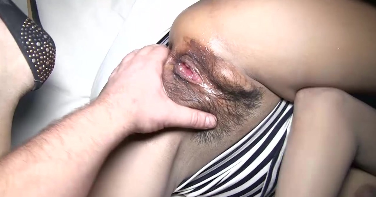 Zebra Dress Creampie