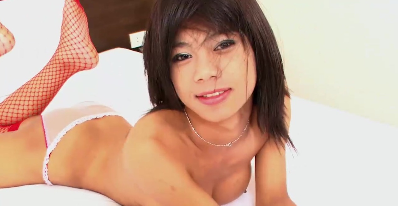 Perfect Ladyboy Tits Stroke