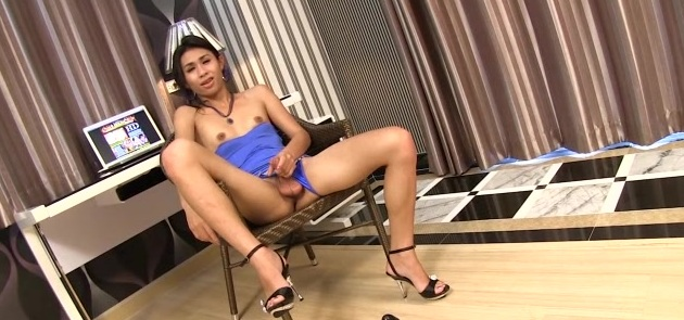 Blue Dress Femboy