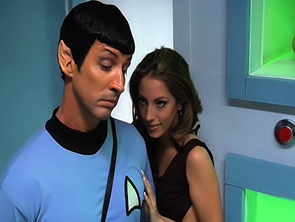 Jenna Haze in This Ain't Star Trek XXX