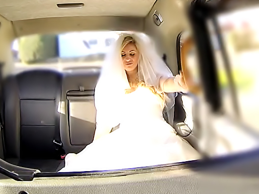 Runaway bride needs big cock