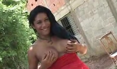 Busty Shemale Outdoor Hook Up