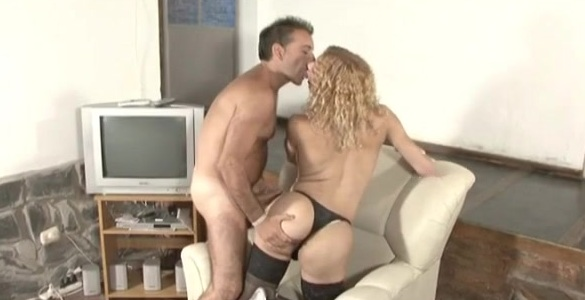 Karina and Fernando horny shemale on video