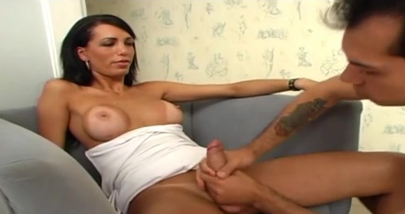 Marcela tranny dicking boy on video