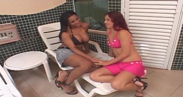 Luciana tranny fucks girl movie