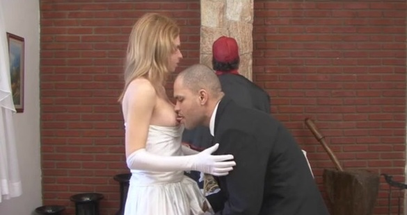 alessandra and tony just married shemale duo