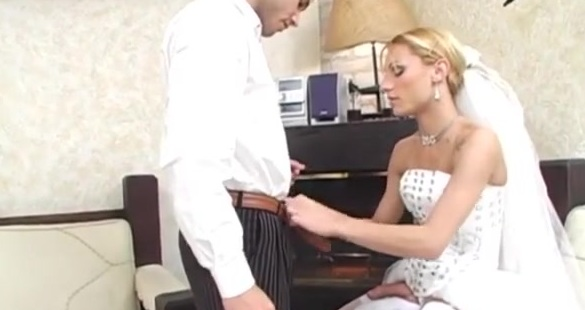 Milena assfucking her fiance