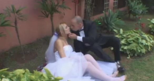 Alessandra kinky shemale bride
