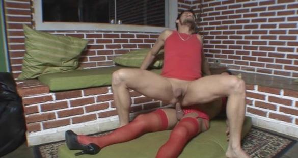 joyce and edu shemale pantyhose video