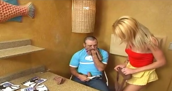 Michele tranny pantyhose sex video