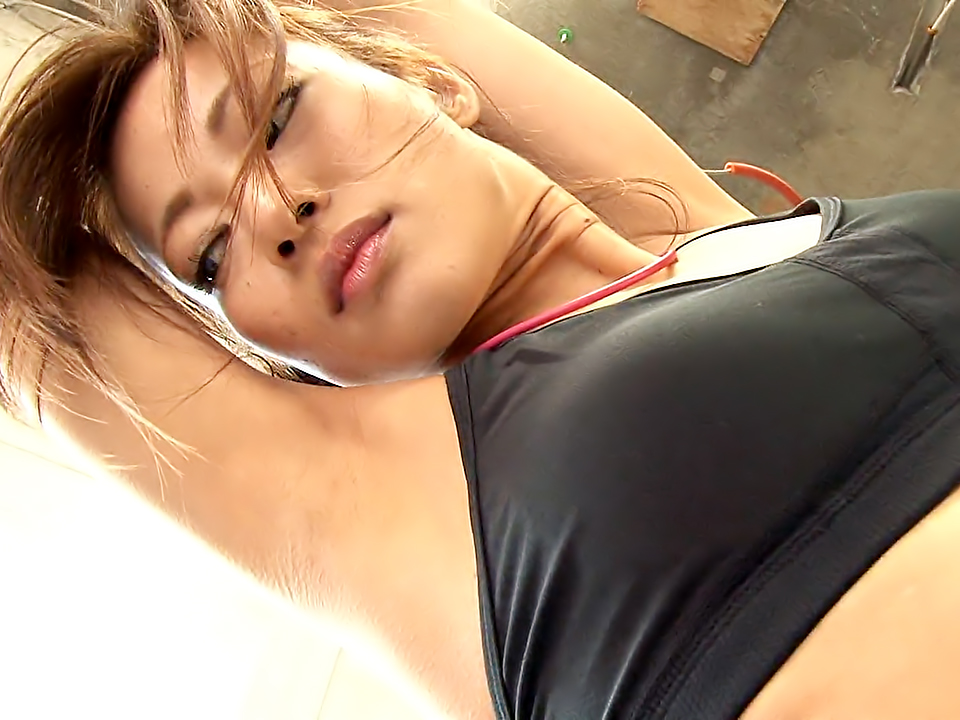 Aoi Mikami likes her daily outdoors workout routine